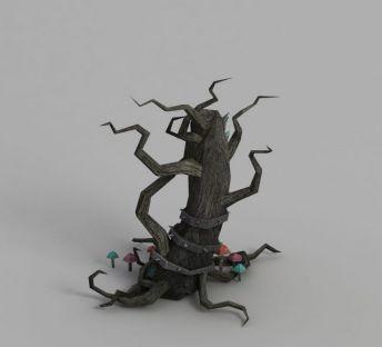 魔兽世界怪树