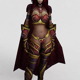 wow魔兽世界角色系列模型