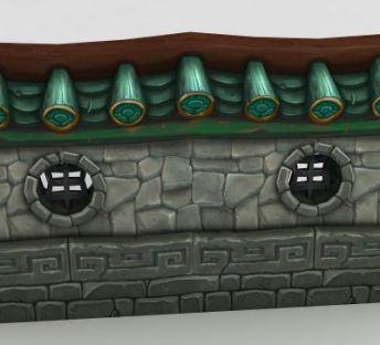 魔兽世界庭院墙