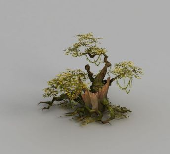 魔兽世界游戏大树