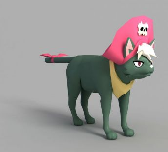 游戏猫咪角色