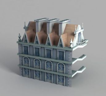游戏城堡造型