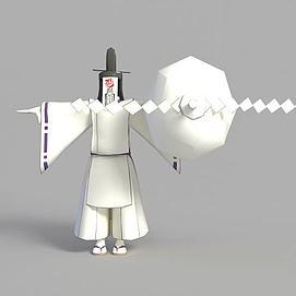 3d游戏魔鬼角色造型模型