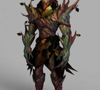 魔兽世界人形树模型