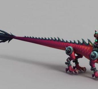 魔兽世界游戏龙坐骑