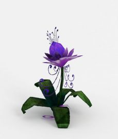3d花朵模型
