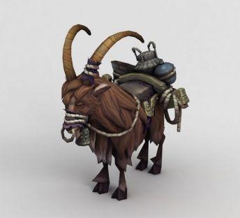魔兽世界山羊坐骑