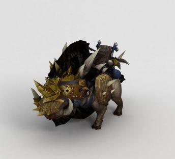 魔兽世界游戏动物坐骑