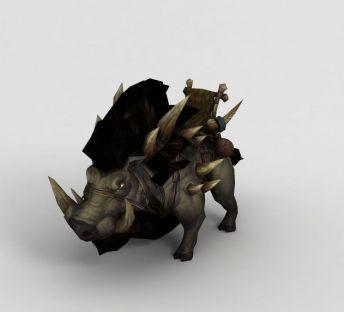 魔兽世界游戏动物