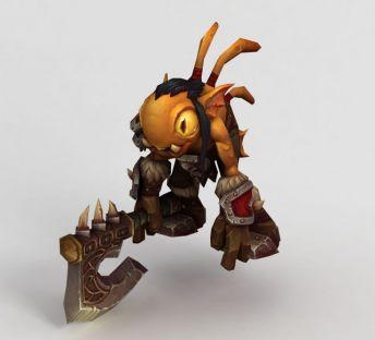 魔兽模型蚂蚁