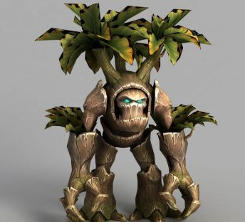 魔兽世界树人