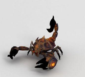魔兽世界蝎子游戏坐骑