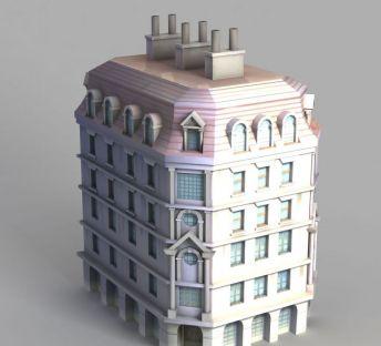 动漫城堡建筑