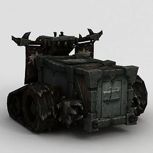 魔兽世界作战车模型