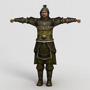 三國武士集模型3d模型