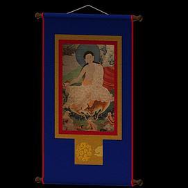 藏族唐卡模型