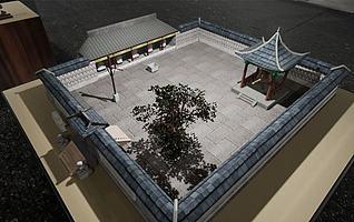 石佛寺3d模型