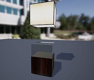 展品柜子3d模型