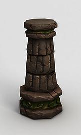 魔兽世界柱子模型