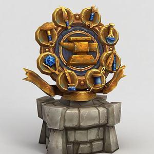 魔兽世界装备架模型