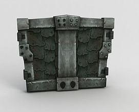 魔兽世界石门模型