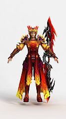 鬼王宗游戏人物角色模型3d模型