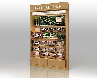 化妆品背柜3d模型