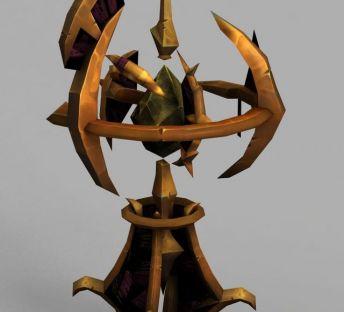 魔兽世界装备弓箭发射器