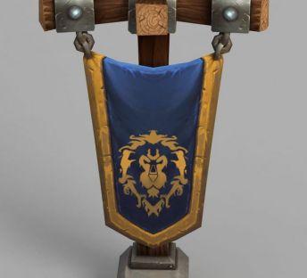 魔兽世界装备旗帜