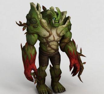 魔兽世界绿巨人怪兽