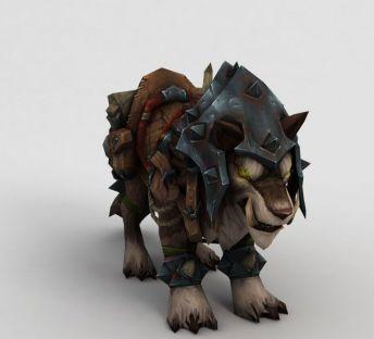 魔兽世界钢铁狮子怪兽
