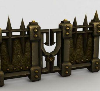 魔兽世界钢铁门