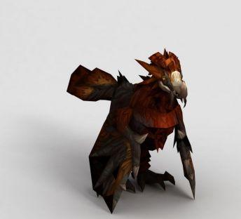 魔兽世界鹦鹉坐骑