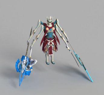 游戏四臂人物形象