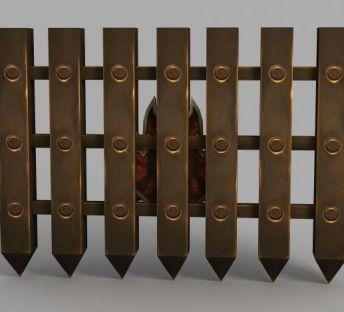 魔兽世界钢铁栅栏门
