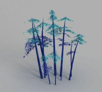 魔兽世界游戏场景竹子装饰