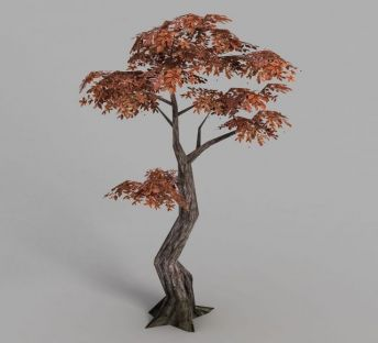 魔兽世界树木场景装饰