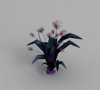 游戏场景灌木花