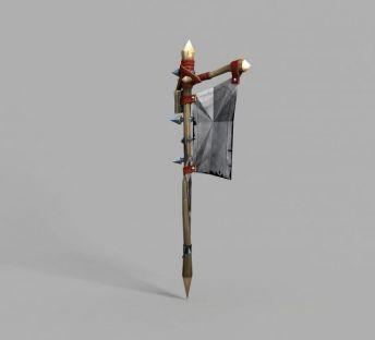 魔兽世界旗子