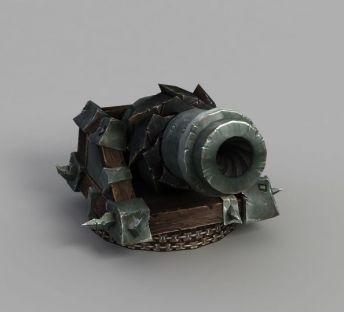 魔兽世界炮筒