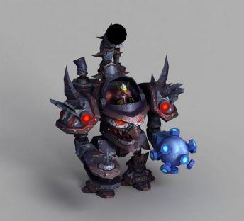 魔兽世界遥控钢铁巨人