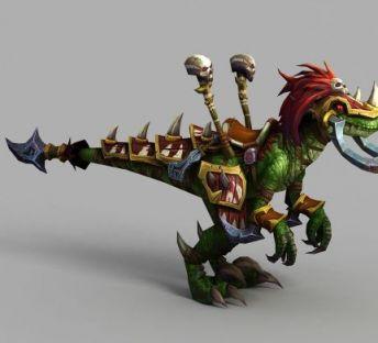 魔兽世界恐龙坐骑