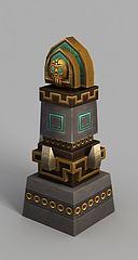 魔兽世界游戏场景装饰模型3d模型