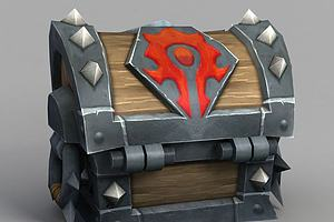 魔兽世界箱子模型模型
