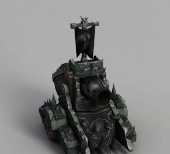 魔兽世界作战炮筒