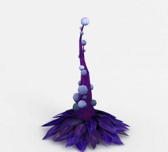 魔兽世界异形树场景装饰
