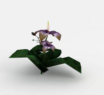 魔兽世界灌木花场景装饰