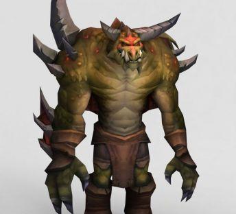 魔兽世界游戏怪兽