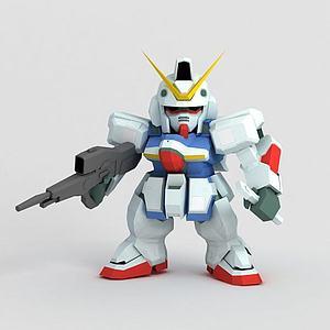 高達系列模型3d模型