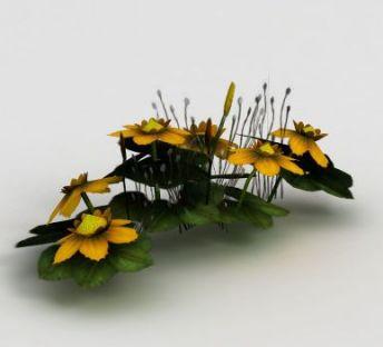 魔兽世界游戏场景花卉装饰